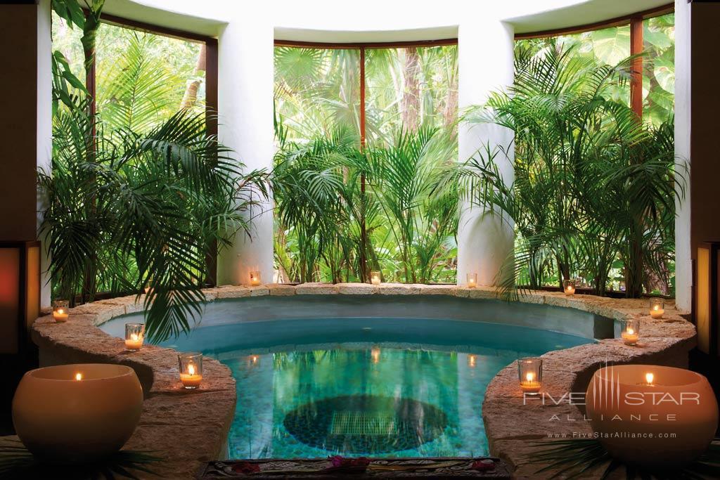 Spa Pool at Belmond Maroma Resort and Spa, Riviera Maya, Quintana Roo, Mexico