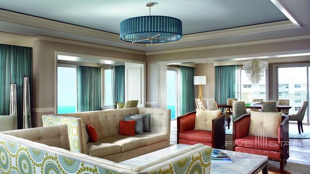 Suite Lounge at The Ritz-Carlton Key Biscayne, FL