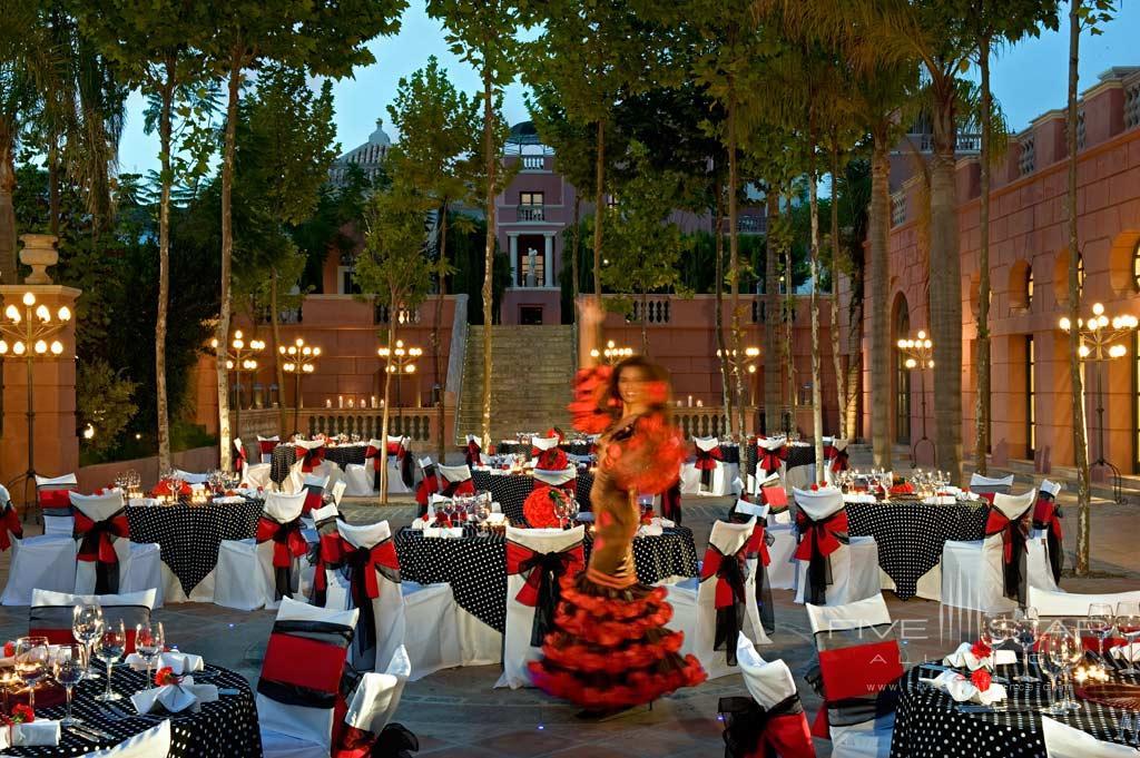 Terrace Dine at Hotel Villa Padierna, Marbella, Spain