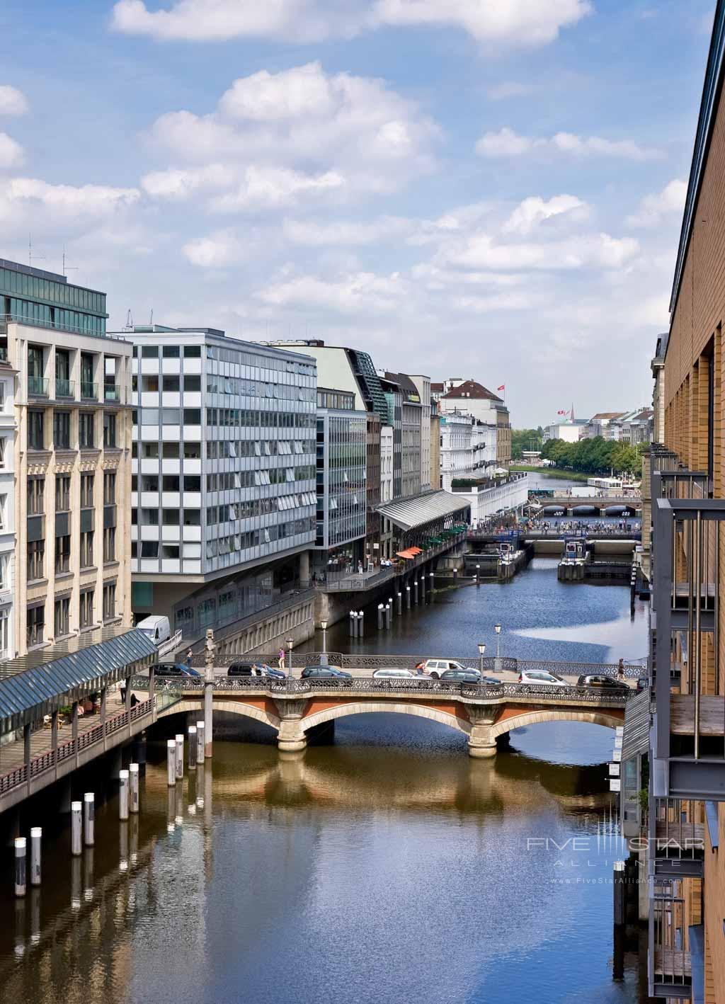 Views at Sofitel Hamburg Alter Wall, Hamburg, Germany