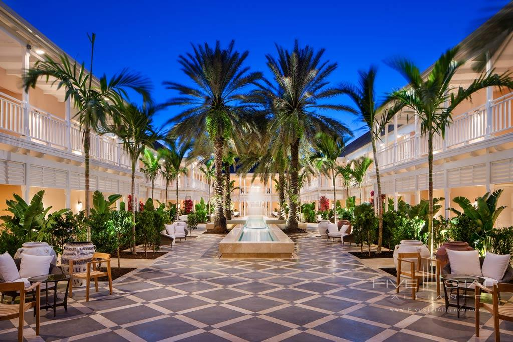 Outdoor Patio Lounge at One&Only Ocean Club, Paradise Island, Nassau, Bahamas