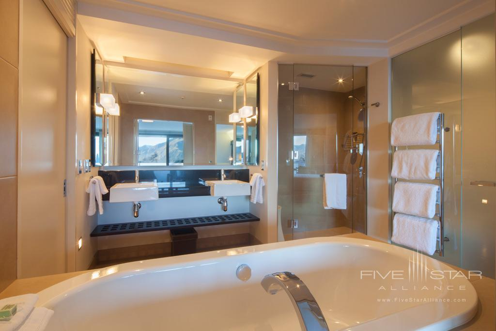 Bath at The Spire Hotel, Queenstown, New Zealand