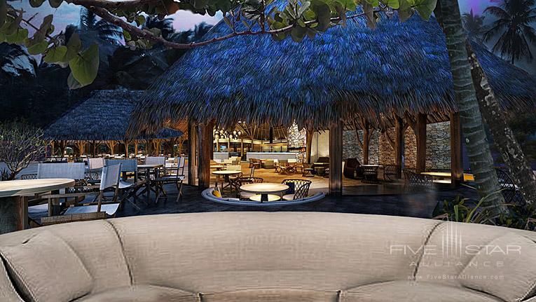 Beach Grill and Lounge at Conrad Bora Bora Nui, Bora Bora, French Polynesia
