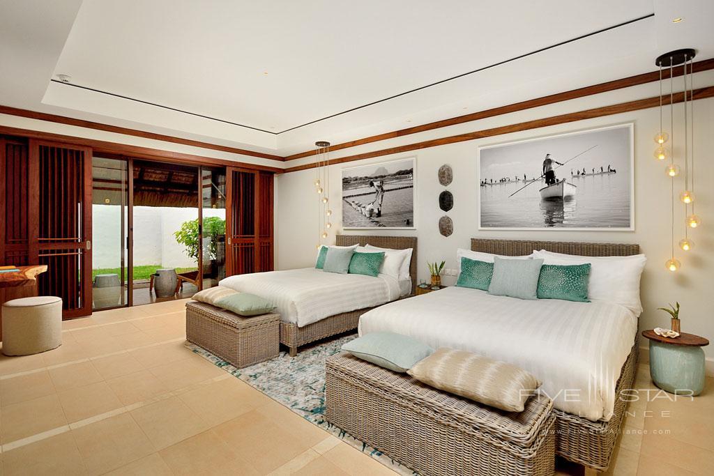 Beach Villa Twin at Shangri-La's Le Touessrok Resort, Trou d'Eau Douce, Mauritius