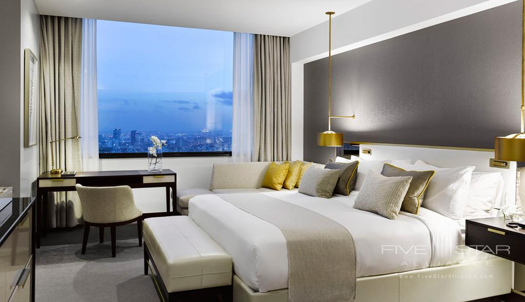 Deluxe King Guest Room at Fairmont Rey Juan Carlos I, Barcelona, Spain