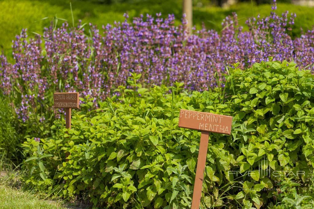 Gardens at Hotel Amade Chateau, Vrakúň, Slovakia