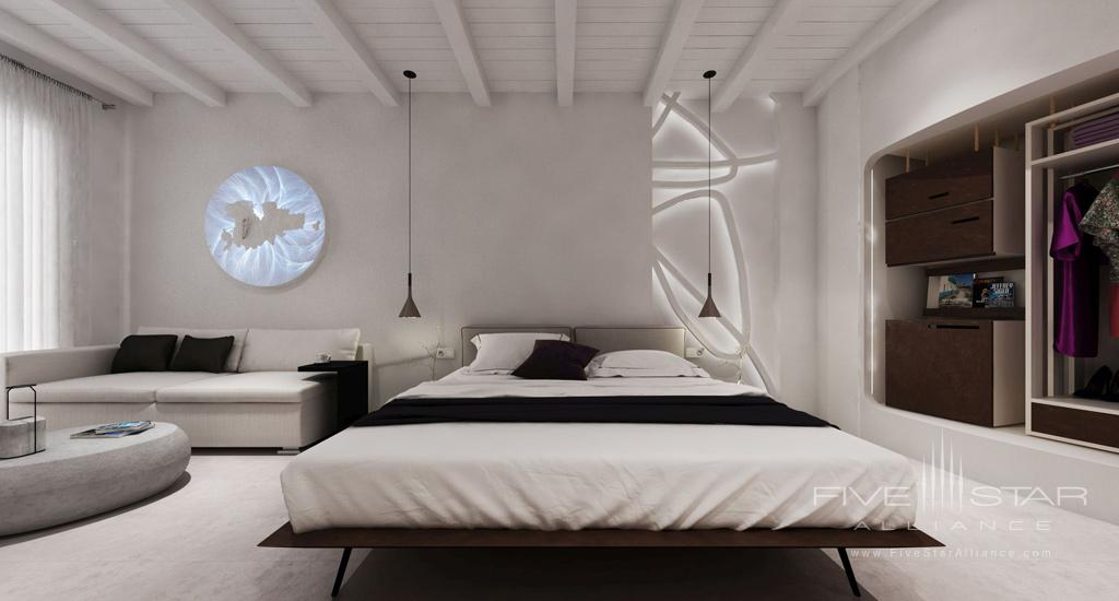 Guest suite at Absolut Mykonos