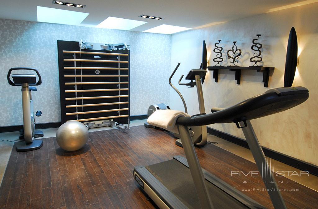 Gym at Eastwest Hotel, Geneva, Switzerland