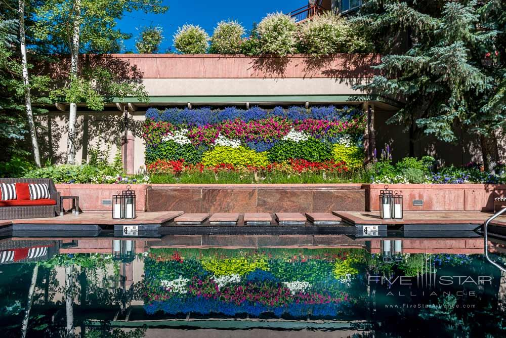 The Living Wall at Little Nell, Aspen, CO