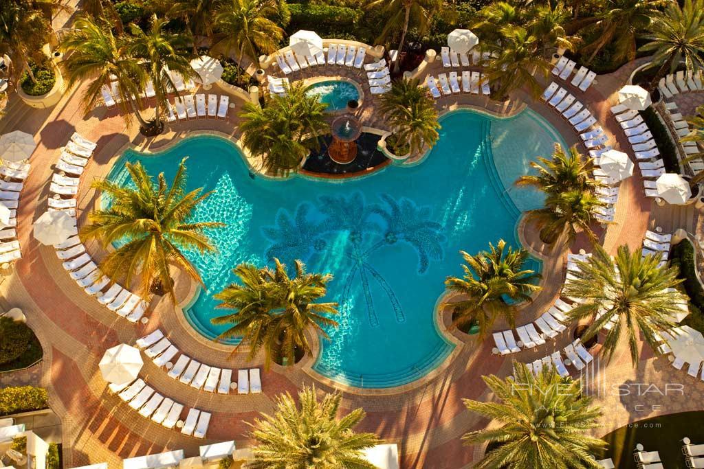 Outdoor Pool at Loews Miami Beach Hotel, Miami Beach, FL