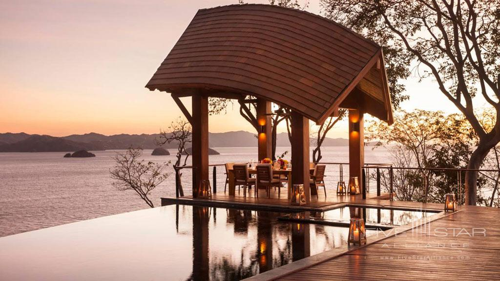 Private Dining at  Four Seasons Resort Costa Rica at Peninsula Papagayo, Guanacaste, Costa Rica