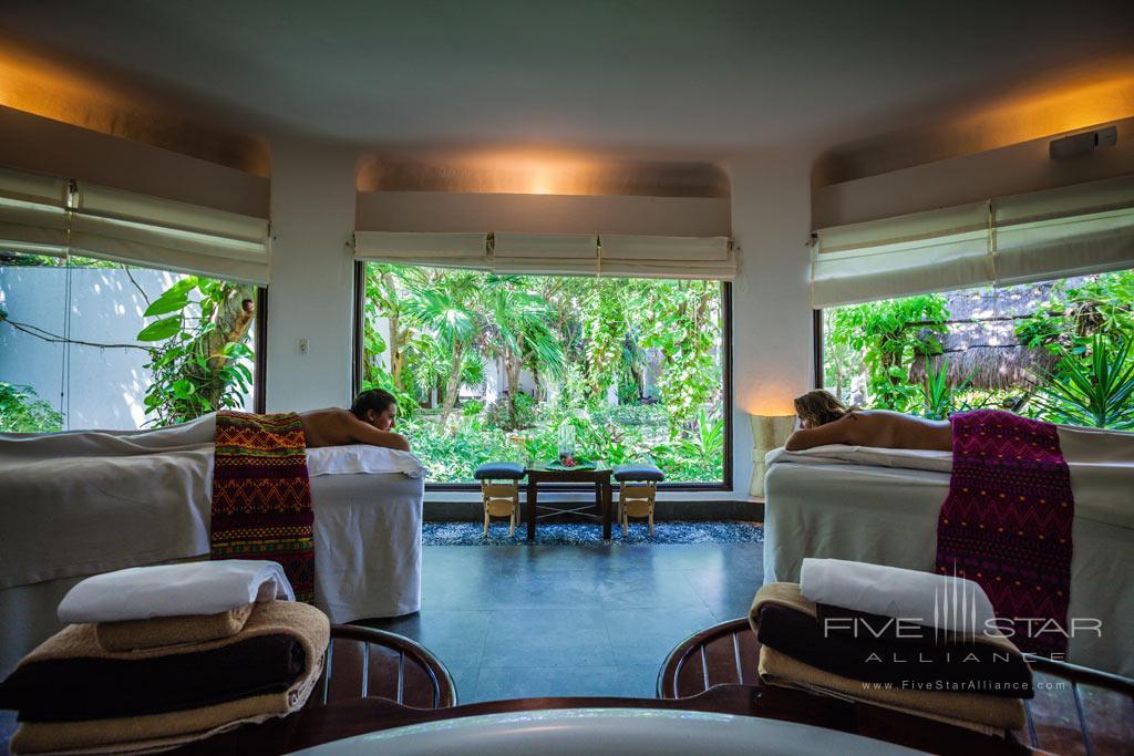 Spa at Belmond Maroma Resort and Spa, Riviera Maya, Quintana Roo, Mexico