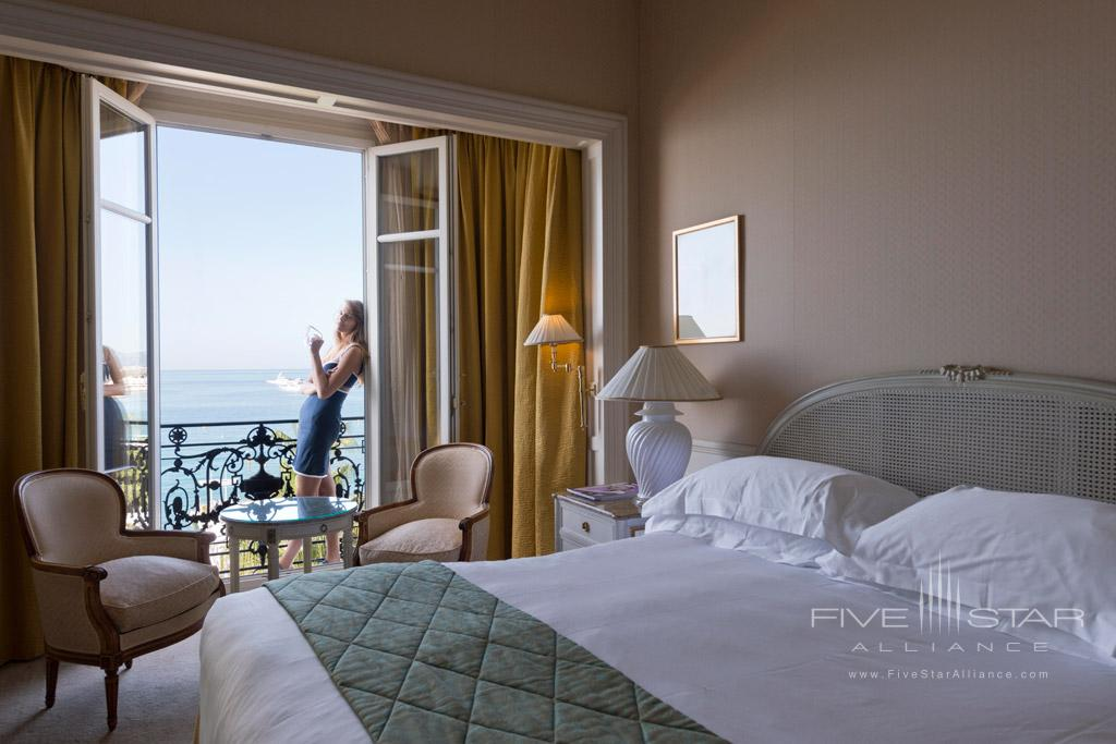 Sea View Guest Room at InterContinental Carlton Cannes, Cannes, France