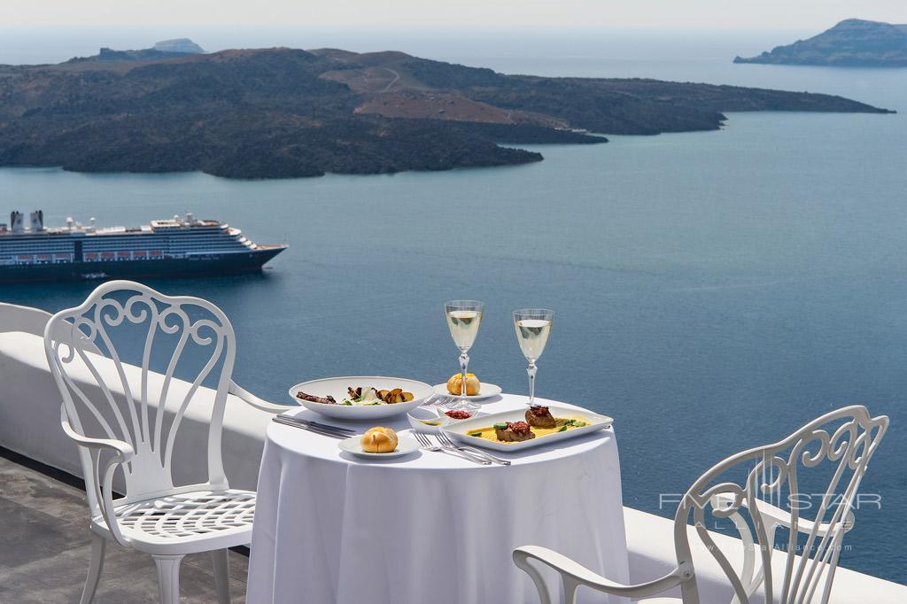 Sunrise Breakfast at Athina Luxury Suites, Greece