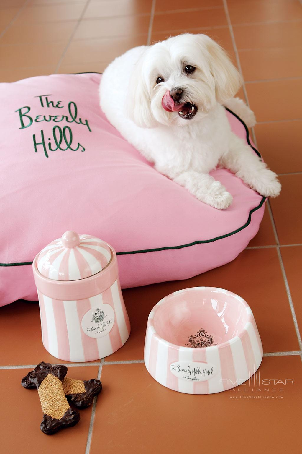 Pets Welcome at Beverly Hills Hotel, Beverly Hills, CA