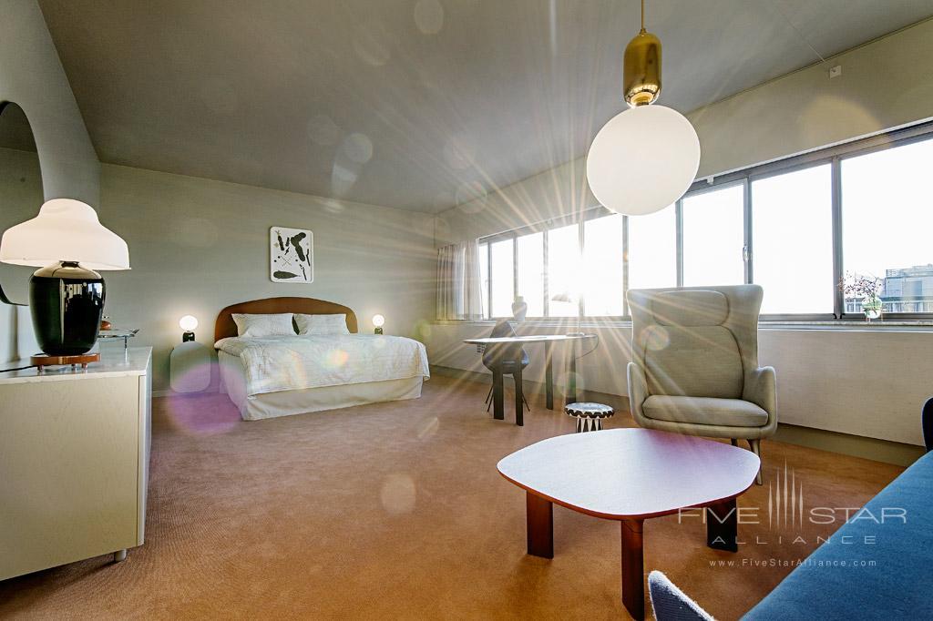 Suite at Radisson Blu Royal Hotel Copenhagen, Denmark