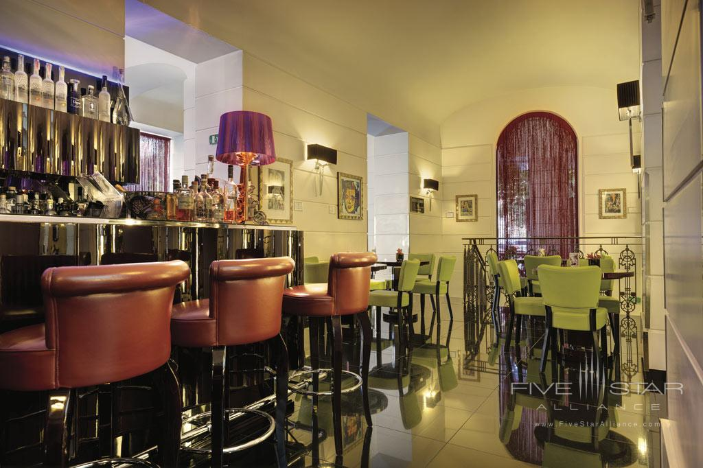 Bar at Grand Hotel Via Veneto, Rome, Lazio, Italy