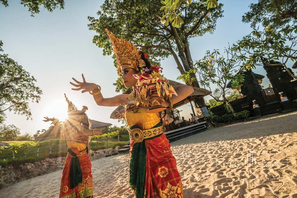 Festive Entertainment at Four Seasons Bali Jimbaran Bay, Bali, Indonesia
