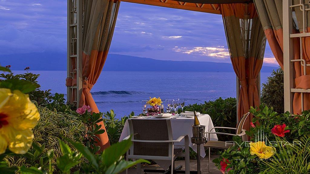 Ocean Side Cabana Dining at Hyatt Regency Maui Resort And Spa, Kaanapali, HI