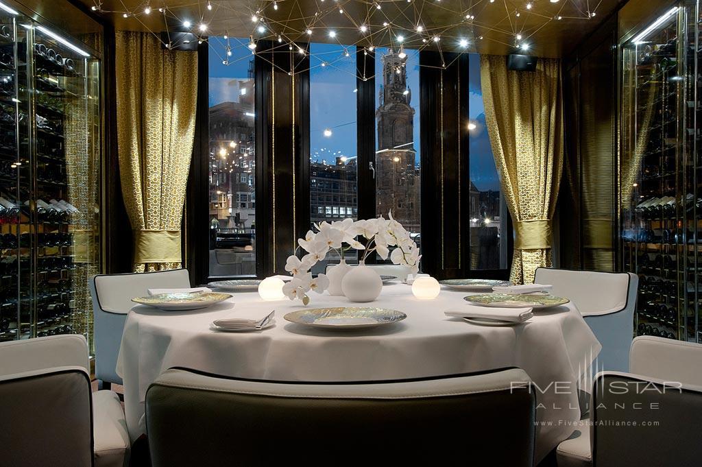 Private Dine at Hotel De L'Europe, Amsterdam, Netherlands