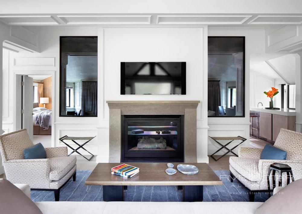 Paepcke Suite, The Largest Suite at The Little Nell, Aspen, CO