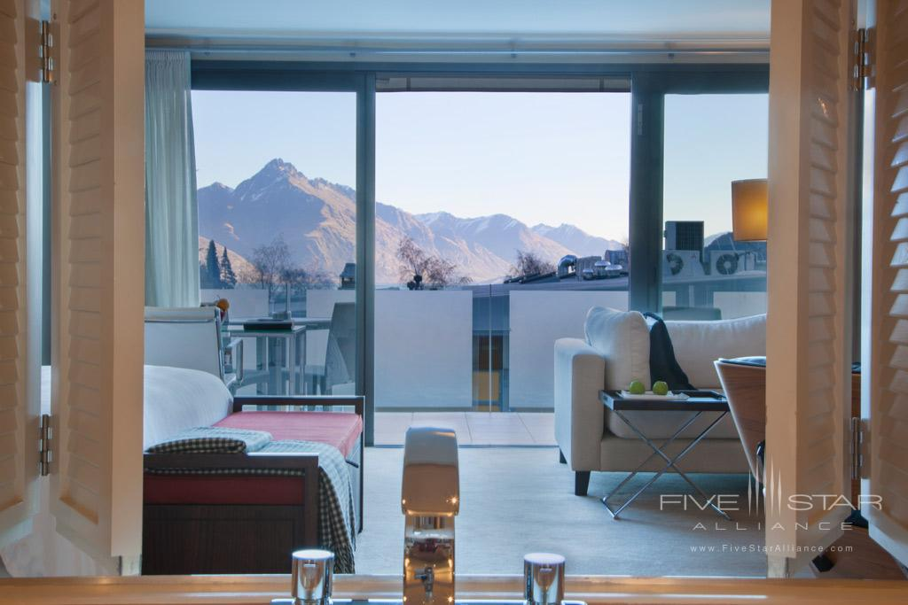 Guest Room Views at The Spire Hotel, Queenstown, New Zealand