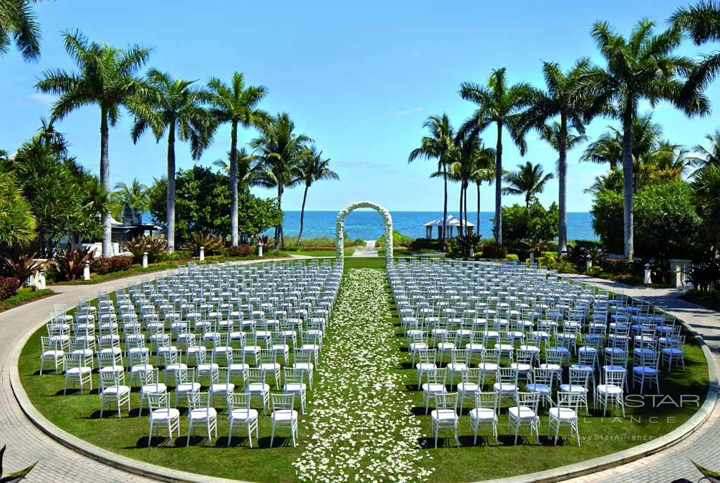 Wedding's at The Ritz-Carlton Key Biscayne, FL