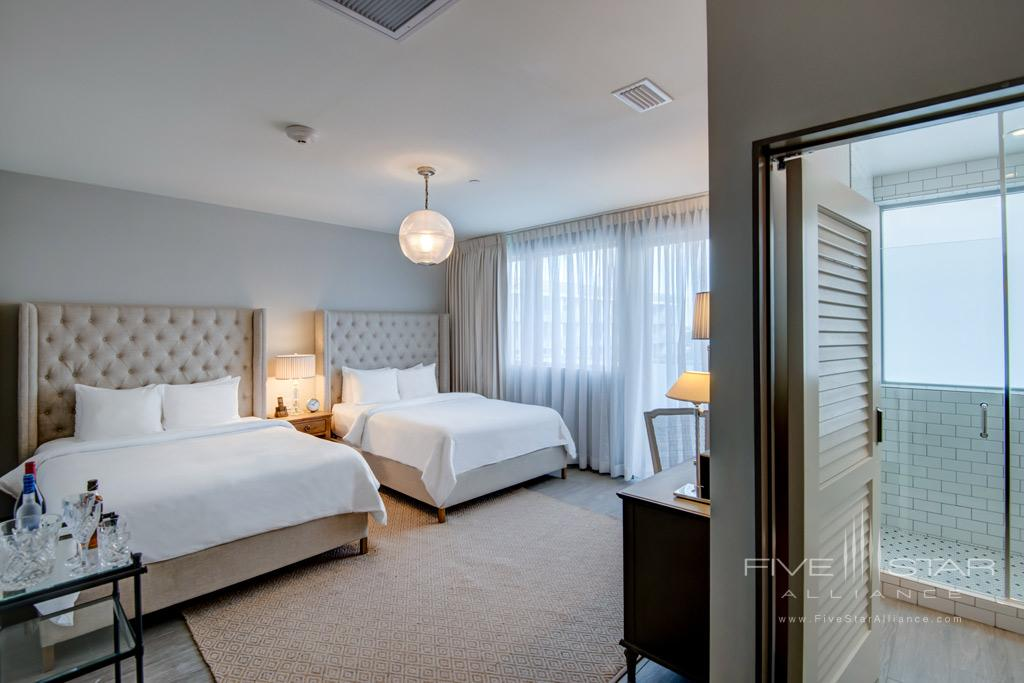 Double Guest Room at The Plymouth Miami Beach, Miami Beach, FL
