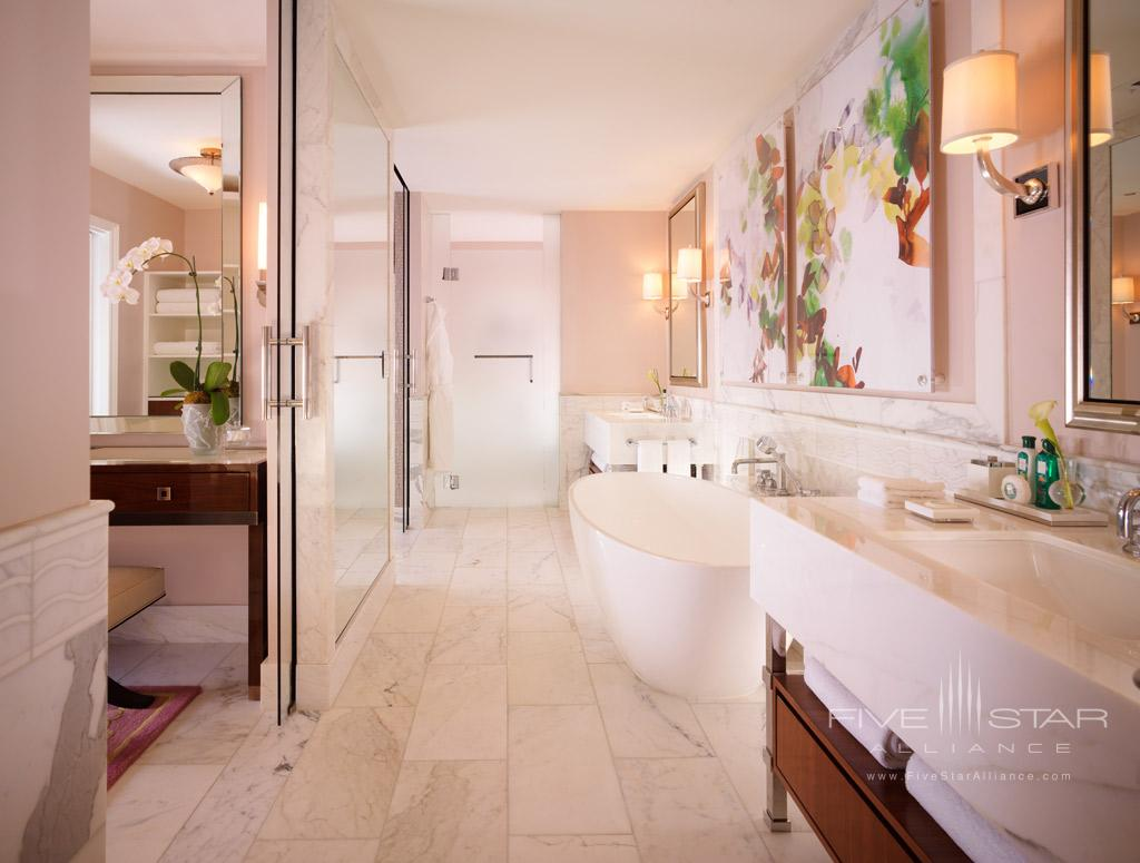Premier Suite Bath at Beverly Hills Hotel, Beverly Hills, CA