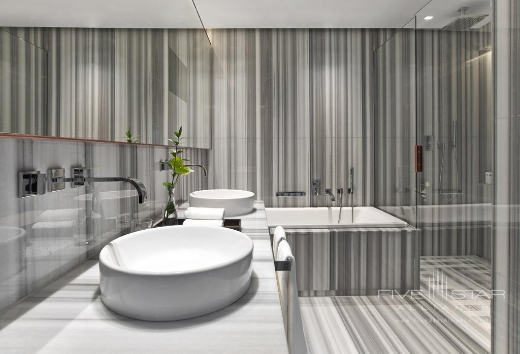 Suite Bath at The St. Regis Istanbul, Turkey