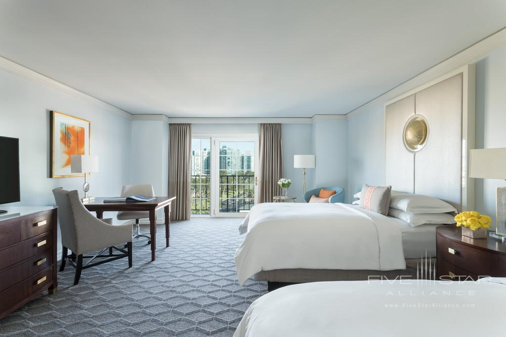 Double Club Guest Room at Ritz Carlton Marina Del Rey, Marina Del Rey, CA