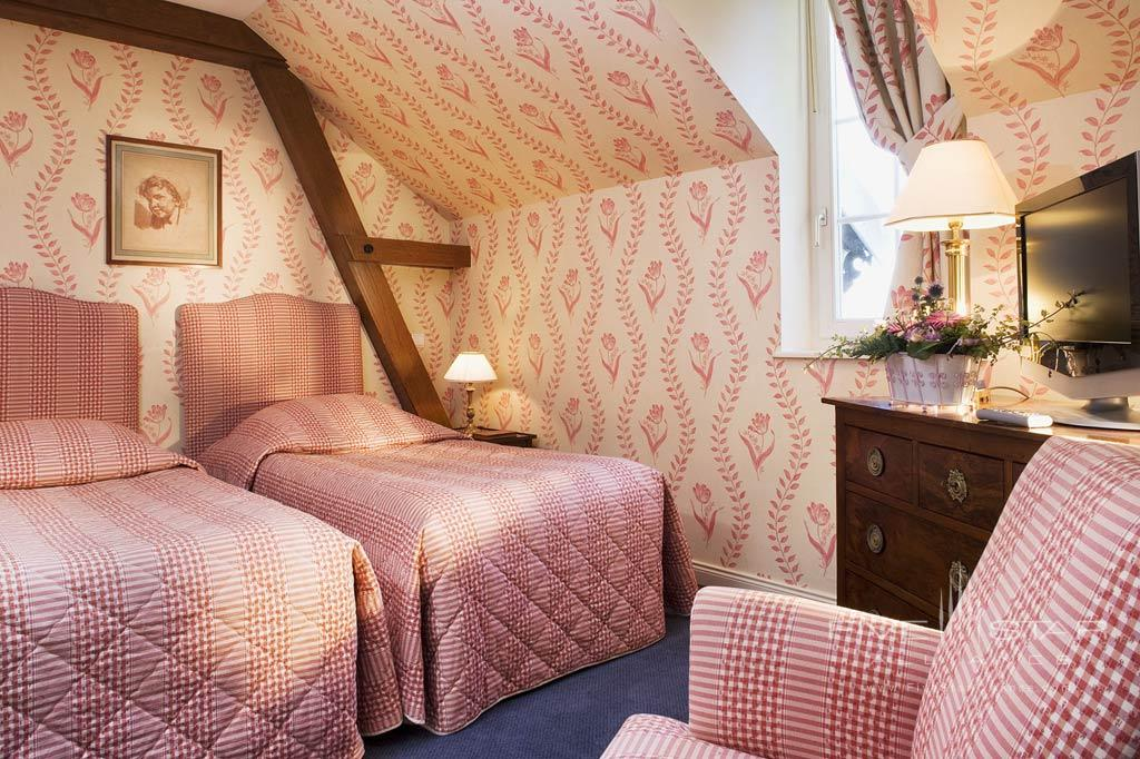 Double Guest Room at Chateau D'Isenbourg, Rouffach, France