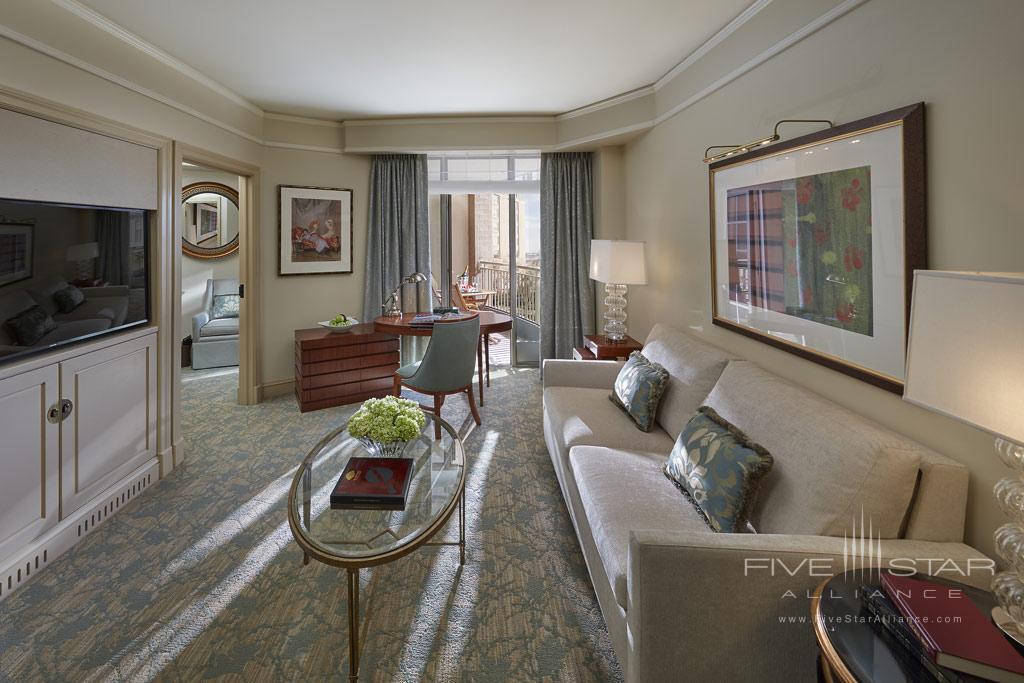 Executive Water View Suite Living Room at Mandarin Oriental Washington, DC, United States