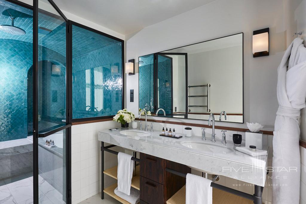 Indulgence Suite Bath at Le Roch Hotel & Spa, Paris, France