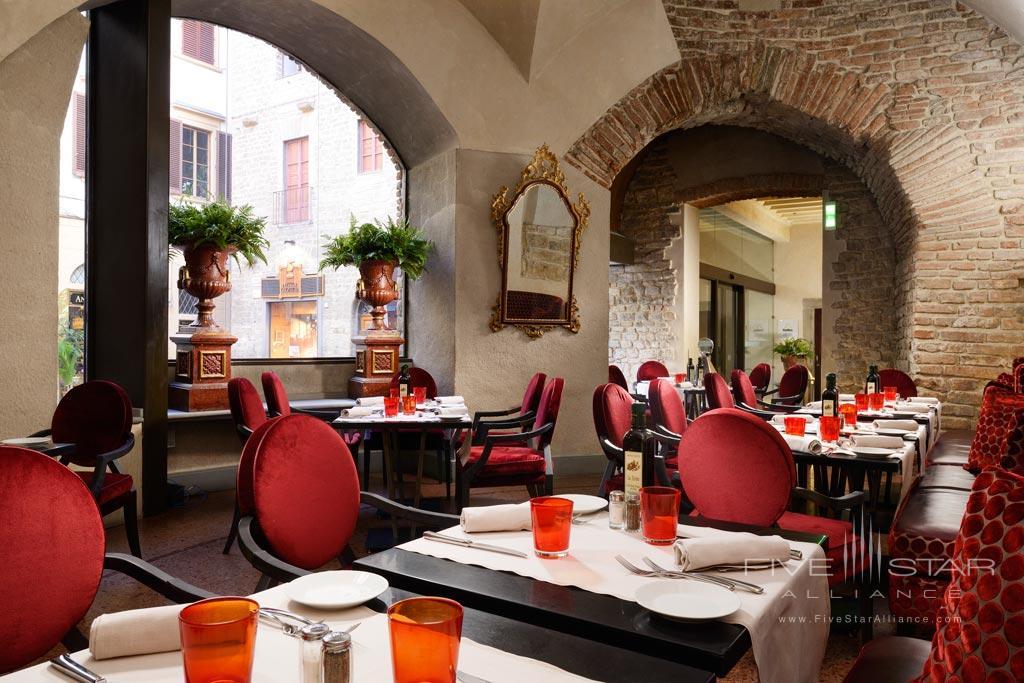 Osteria Della Pagliazza at Brunelleschi Hotel Florence, Italy