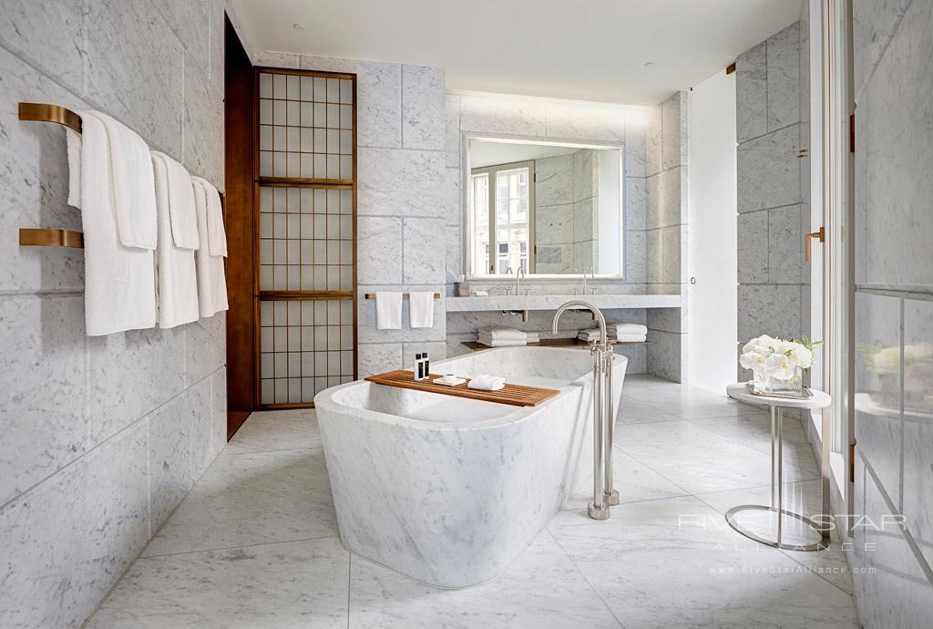 Regent Suite Bath at Cafe Royal Hotel, London, United Kingdom