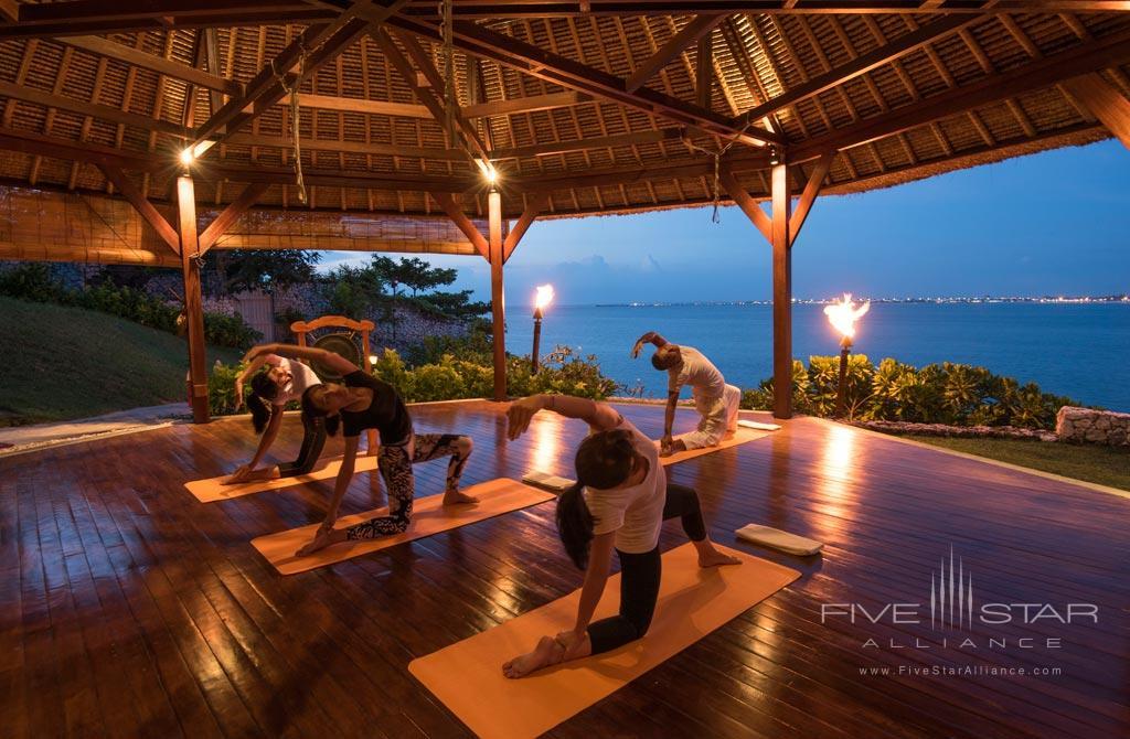Enjoy Relaxing Yoga at Four Seasons Bali Jimbaran Bay, Bali, Indonesia