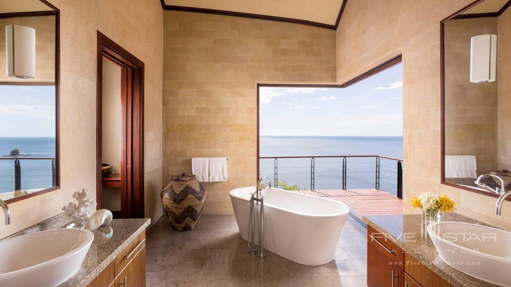 Suite Bath at  Four Seasons Resort Costa Rica at Peninsula Papagayo, Guanacaste, Costa Rica