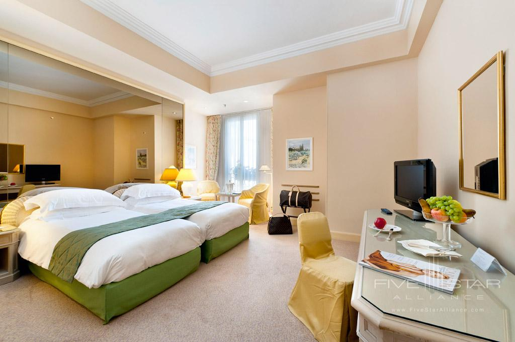 Twin Bed Superior City View Guest Room at InterContinental Carlton Cannes, Cannes, France