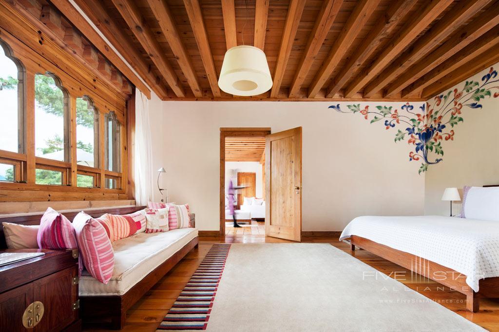 Villa Guest Room at COMO Uma Paro, Paro, Bhutan