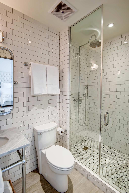 Guest Bath at The Plymouth Miami Beach, Miami Beach, FL