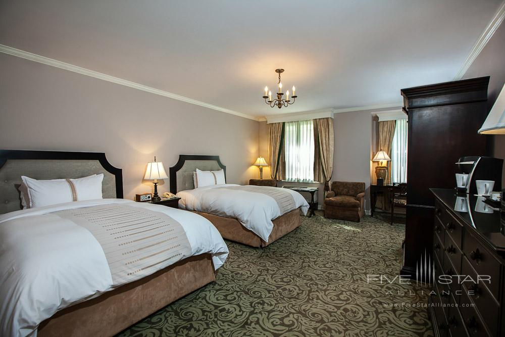 Deluxe double room at Castle Hotel and SpaTarrytownNY