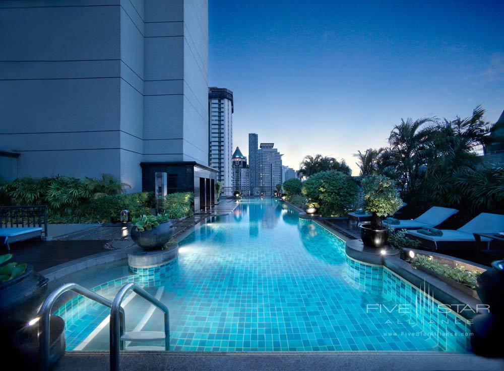 Pool at Banyan Tree Bangkok