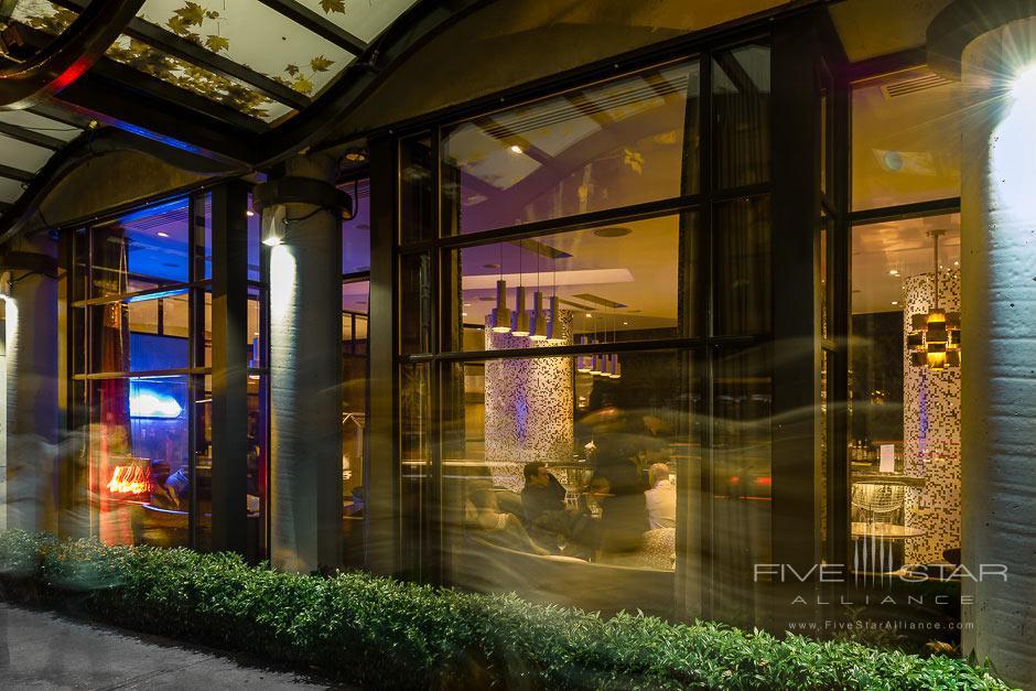Bar Exterior at Opus Hotel VancouverCanada