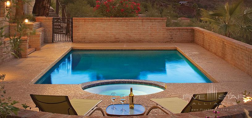 Sanctuary on Camelback Mountain Private Home - The Pool of Casa Montana