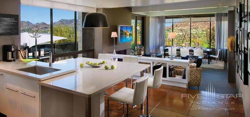 The Sanctuary on Camelback Mountain Private Homes - Kitchen of Gallery