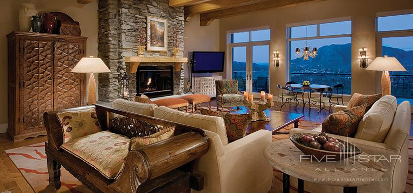 Sanctuary on Camelback Mountain Private Residences - Casa 9 Living Room