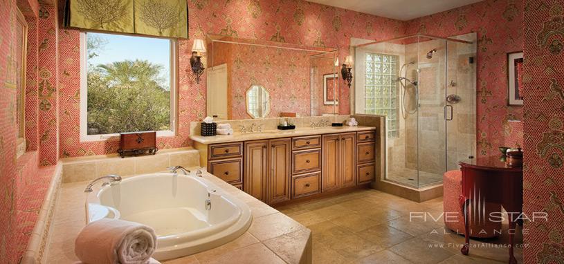 Sanctuary on Camelback Mountain Private Residences - Casa 9 Master Bathroom