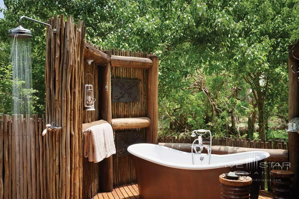 Bath at Belmond SafarisBotswana