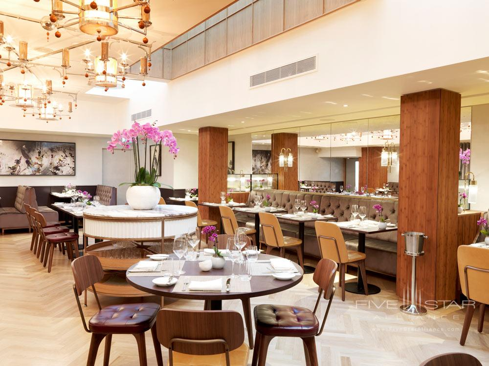 Dining at Athenaeum Hotel and Apartments, London, United Kingdom